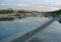 Rhone at sunrise