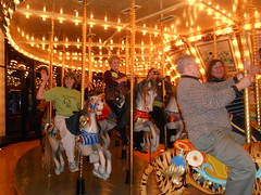 Carousel Riding - Shirley, Jane, Bob & Carol
