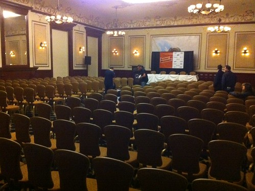 Where we're speaking on Monday 9.30 COME ALONG!