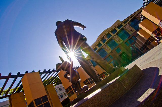 The Walt Disney Studios - Legends Plaza