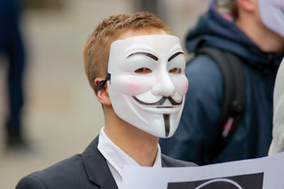 Anonymous contre Acta à Rouen