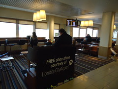 Shoeshine, Airside at London City Airport (3)