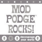 mod podge rocks