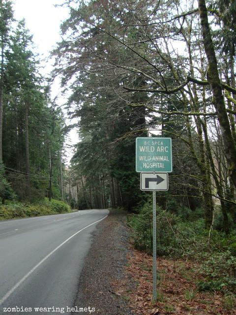 Wild ARC roadsign