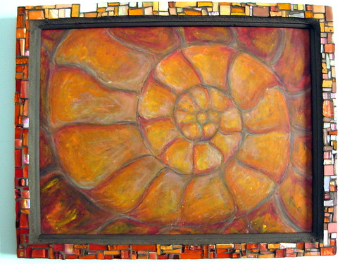 Orange Nautilus by Margaret Almon and Suzanne Halstead