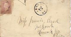Letter Nov 1863 envelope