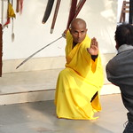 Mon, 12/03/2012 - 16:12 - Shifu Shi Yan Du (Kanishka Sharma) is the Official Buddhist Name (Darma Name) given by Shaolin Temple under the Guidance of Abbot Shi Yongxin, is a Shaolin Warrior from Shaolin Temple, China. He is the First Indian  Shaolin WarriorTo be Trained at Shaolin Temple Under the Guidance of Shifu Shi Heng Jun who introduced him to legendary Grand Master Suxi and his kungfu Brother Shifu Shi Deyang and currently is head of Shaolin India. Under Shifu Shi Heng Jun Guidance Shifu kanishka got trained in Shaolin jiben gong ShibaShi, Shaolin Tai Tzu Chang quan, Shaolin Wu bu Chuan,Shaolin Qi Xing Chua, Shaolin Xiao Hong Chuan, Shaolin Luohan Shi Ba shou, Shaolin Luohan Duanda, Shaolin Luohan chuan, Shaolin Wuxing Bafa (5 animal 8 movement), Shaolin Rumen chuan, Shaolin Kung Chuan, Shaolin Yin Shou Gun, Shaolin 9 Section whip Chain, Shaolin Broadsword (Dao), Shaolin Jian( straight sword),Shaolin Fun Mo Gun, Shaolin XinYi Quan , Shaolin Ba Duan jin and Shaolin yi jin jing Qi Gong. Shifu Kanishka also studied Shaolin San Sa liu Duanda( 36 short fighting combination of Shaolin kungfu) and Shaolin 36 Yin Chin-Na( locking system) In the year 2005 Shifu Shi Hengjun Travelled to France to spread the knowledge of Shaolin Chan Wu. Since then Shifu kanishka became disciple of Legendary Grand Master Shi Suyi (Liang Yiquan) who Deputed his Disciple Shifu Shi Yanfang who trained him in Shaolin Mehiua Chuan, Shaolin Pao Chua, Shaolin Hu chuan( Tiger fist), Shaolin Eagle Fist, Shaolin Tanglang Quan, Shaolin Kan jia chuan, Shaolin Yangjia Shi San Qiang( 13 Spear), Shaolin Moon Spade, Tongbei Chuan, Traditional Combat like Shaolin Tang fang ba, Hubpuba and introduced him to highest level of Shaolin Fighting called Xin Yi Ba. Shifu Shi Yanfang also trained Shifu kanishka intensly in Shaolin Sanshou( Free Fighting) specially in Shao Jiao( wrestling) and Shuai Fa( Takedowns) In the year 2008 Shifu Kanishka got the honor to train with Da Shifu Shi Yanzi ( a famous monk who has spent 15 years in Shaolin Temple and was known as the Iron bull and has achieved the highest level of shaolin skill called Xin Yi Ba.) Under the guidance of Da Shifu Shi Yanzi Shifu Kanishka Studied Xiao hong Quan a version which included Xin Yi Ba move called Pi Tui Xie Xing which is one of the most powerful move for Combat. Once mastered this move alone can counter 1000 movements or kicks and punches. Shifu Kanishka during the year 2006 under the Guidance of Grand master Wang studied the Southern Shaolin 18 Luohan System which was very Secretly Taught at that time and was made famous by lengendary Fighter called Hongxi Guan of Southern Shaolin Temple Shaolin Kung Fu India www.shaolinindia.com
