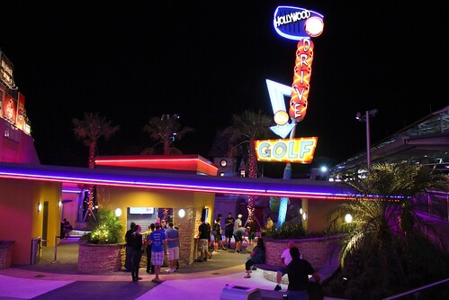 Hollywood Drive-In Golf at Universal Orlando CityWalk