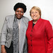 UN Women Executive Director Michelle Bachelet meets with Genoveva da Conceicao Lino, Minister of Family and the Promotion of Women and Head of the Angolan Delegation to CSW