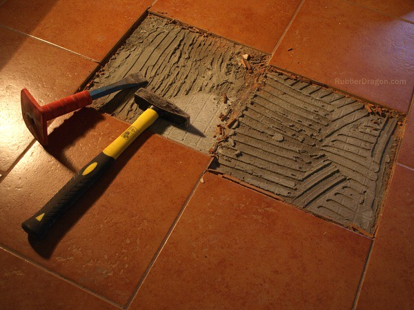 Floor Tile Repairs Flickr Photo Sharing