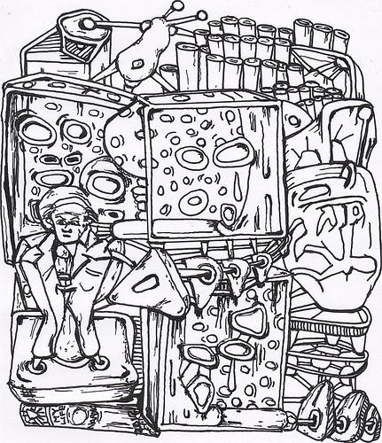 THE CAMUS DISINTEGRATION UNIT-EUNUCH by Narolc