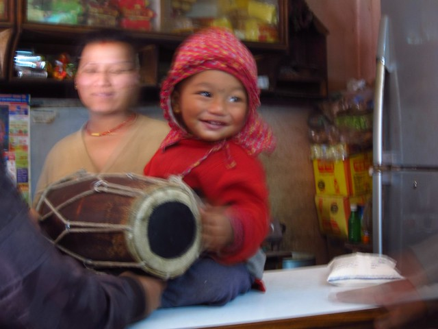 Little Drummer Boy in Bhaktapur
