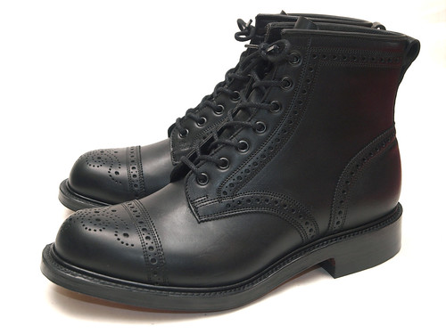 "RRL / ""Limited Edition"" Bowery Boot Brogue"