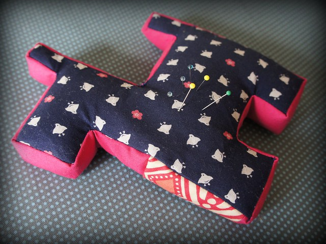 Scottie Dog Pincushion