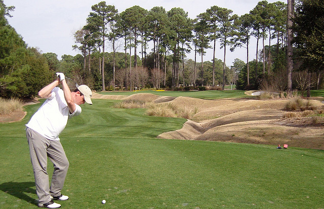 Playing Golf at Myrtle Beach