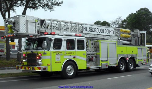 Hillsborough County Fire Rescue Ladder 14