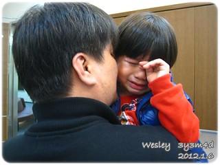 120106-打針前哭泣