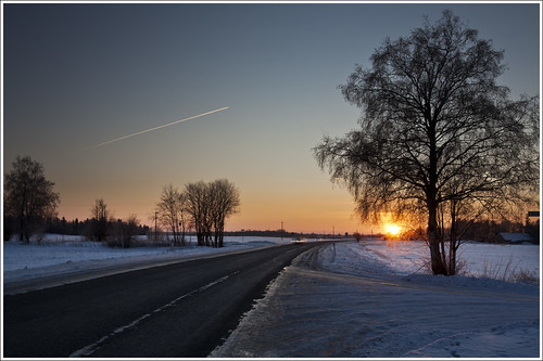 20120201. Cold morning. Sunrise. 2448. by Tiina Gill