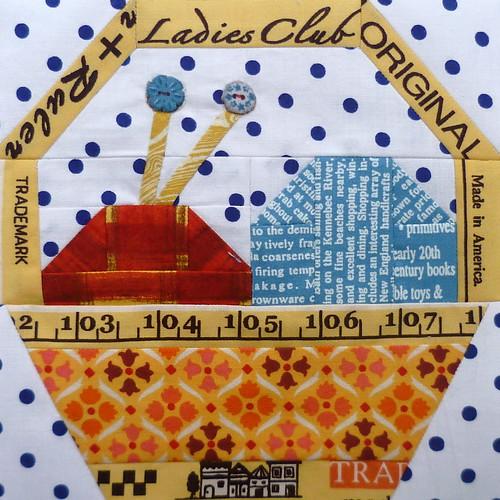 Knitting Basket Block for Charise