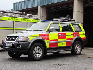 South Tipperary Fire & Rescue / 01 TS 2801 / Mitsubishi Pajero / L4T