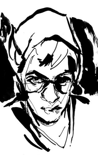 Ink sketch 2 - 2/12/2012