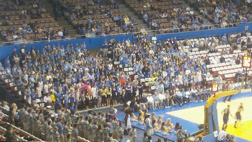 cal ucla hoops 2012 student section