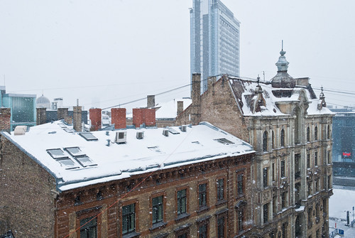building like a Glasgow tenement. DSC_2469 by andrey.salikov