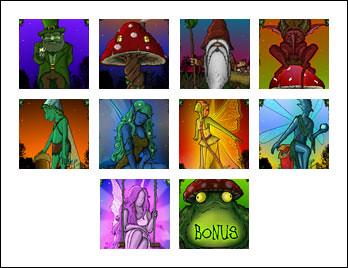 free Enchanted Woods slot game symbols