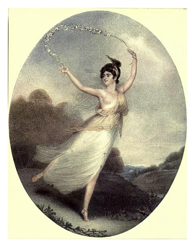 014-La Señorita Parisot 1799- C. Turner-Old English colour prints 1909-Charles Holme