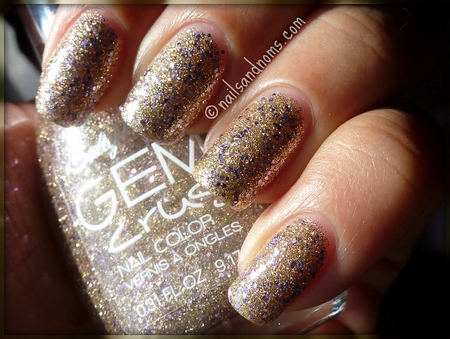 Sally Hansen Gem Crush - Big Money (direct sunlight)