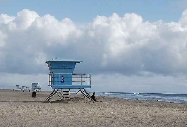Huntington Beach Tower Map
