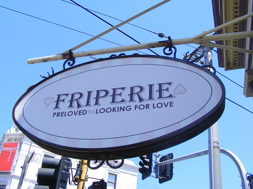 Friperie,  An indie boutique in Melbourne, Australia