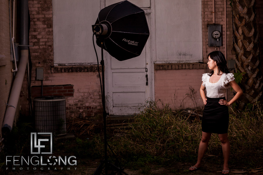 Behind the Scenes | Fion & Tomomi Photoshoot | Downtown Lake Wales, FL | Atlanta Destination Portrait Photographer