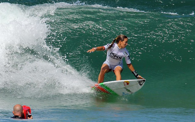 Women Surfers - Australian Open of Surfing  Manly Beach 2012
