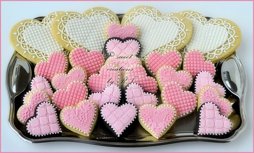 Valentine Heart Cookies (2012)