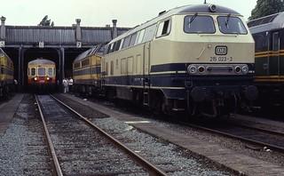 01.08.92 Antwerpen Dam Depot 4006 & DB 215.023