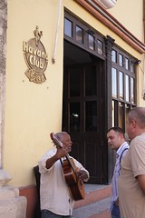In front of Havana Club
