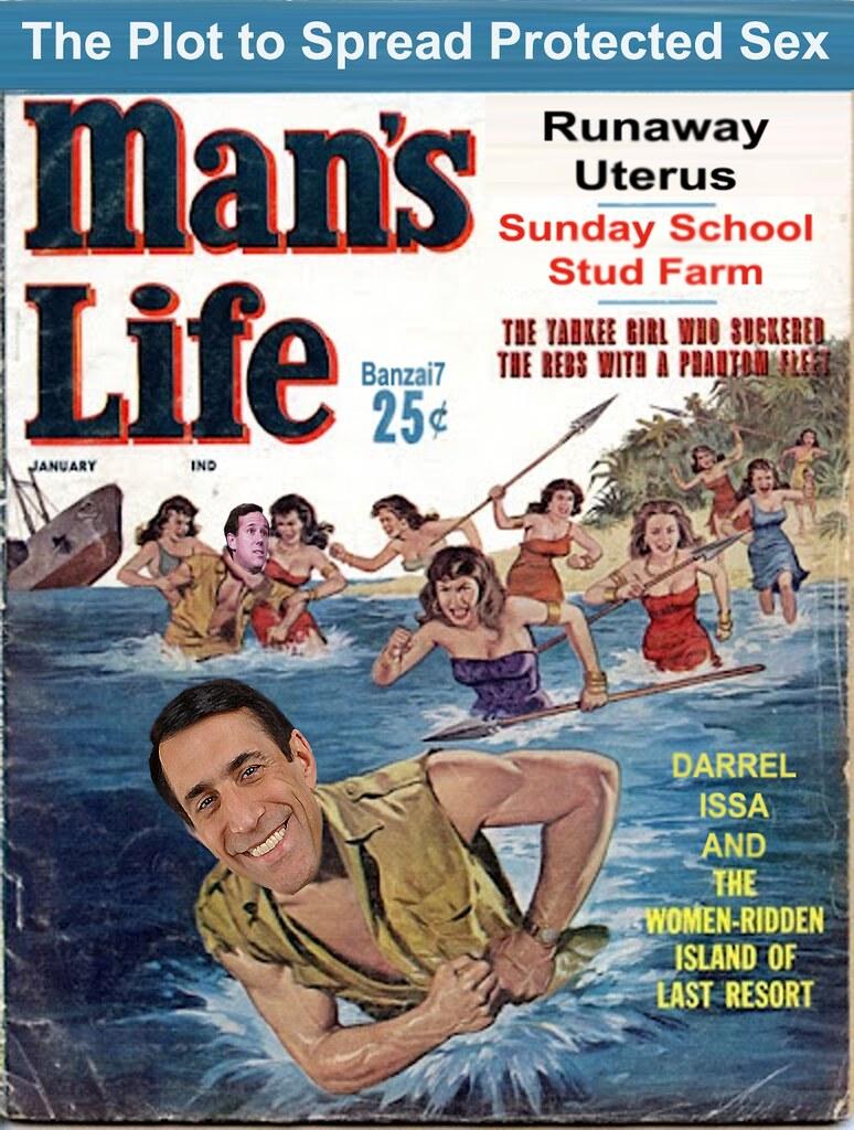 MAN'S LIFE: RUNAWAY UTERUS