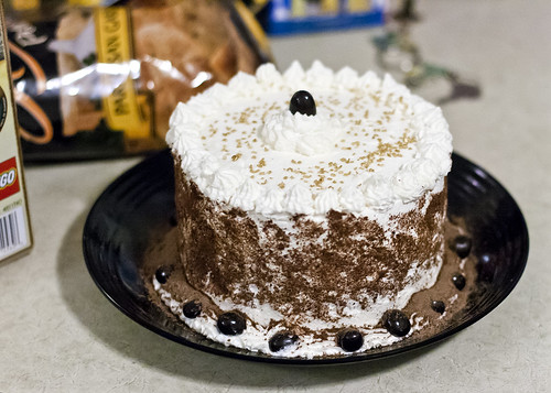 Guinness and Bailey's Chocolate Layer Cake