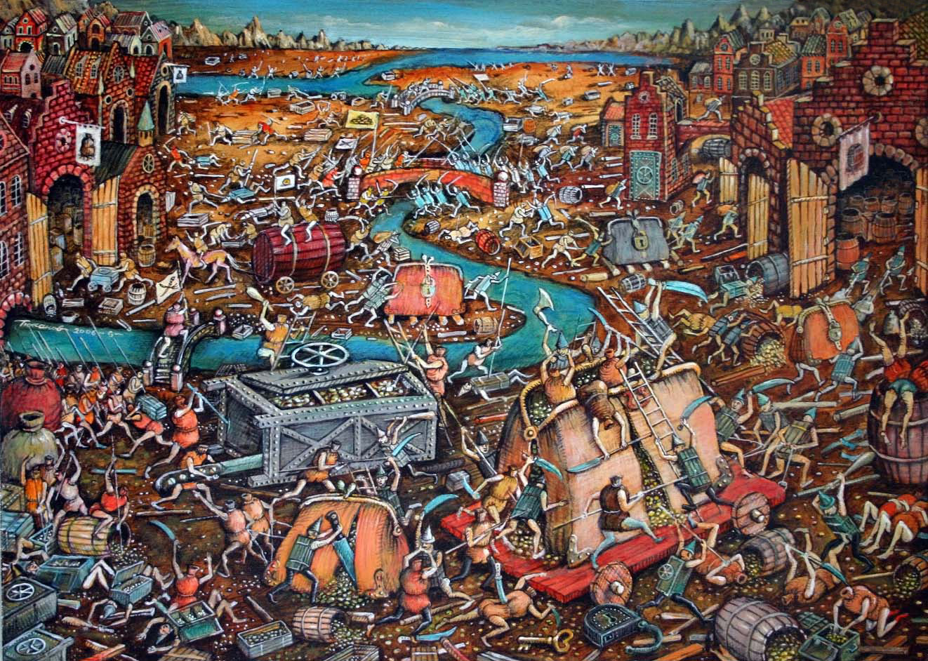 Sergey Tyukanov - Battle Of Money Sacks And Safes, 2006