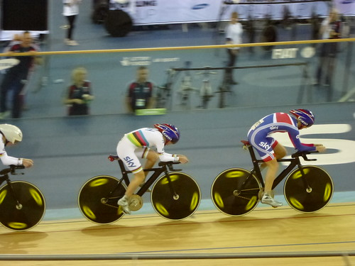 Women's Team Pursuit, GB