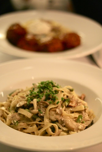 Tagliatelle Funghi at Italian Kitchen, Vancouver