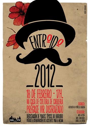 Ribeira 2012 - Entroido de Carreira - cartel