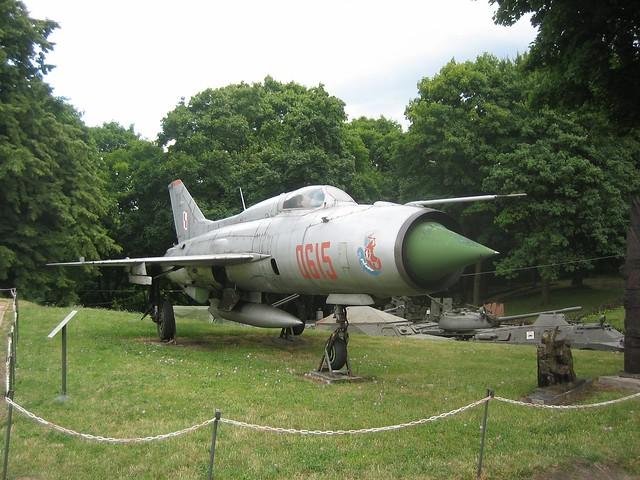 Rusty MiG-21