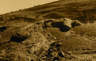 Pahoehoe lava flow, Craters of the Moon National Monument, ID