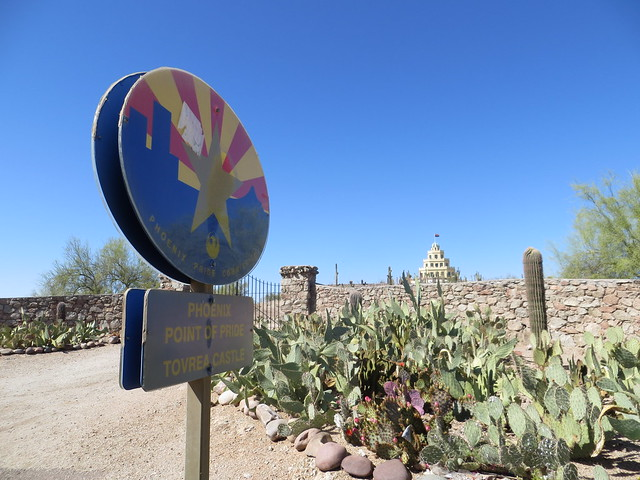 The Tovrea Castle in Phoenix, Arizona