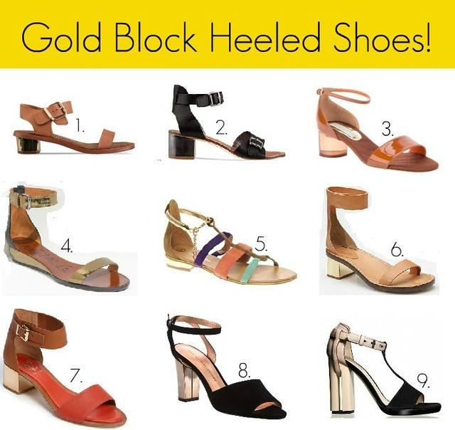 gold block heels1