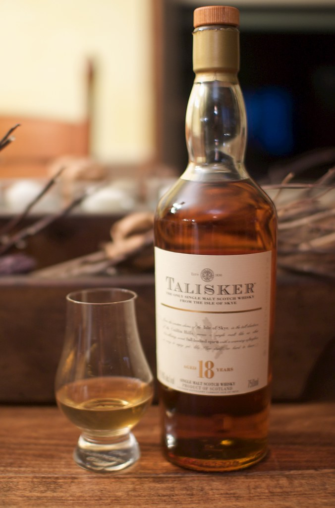 Talisker 18 bottle