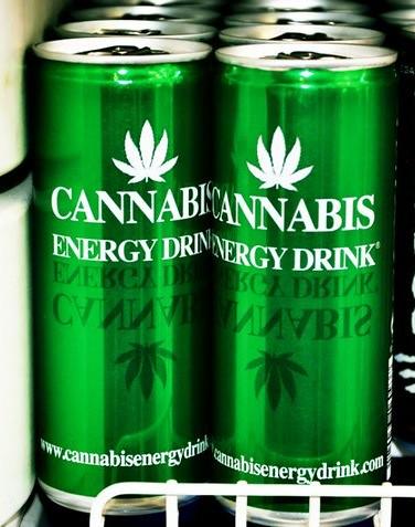 Weed Plus Energy Drinks