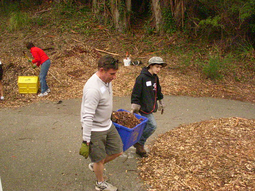 Friends of Montclair RR Trail Volunteer Workday! Saturday, February 18, 2012.